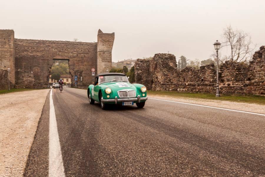 MG A Roadster 1957, Valeggio sul Mincio, ph Marco Federici