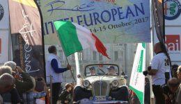 equipaggio di U.N.U.C.I. squadra corse Zanutel-Collareta su Fiat Nsu 508 Glaser