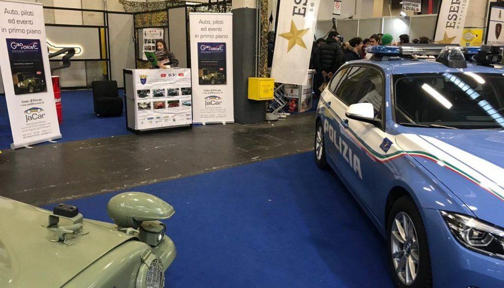 Automotoretrò 2019 - UNUCI squadra corse - giro d'onore