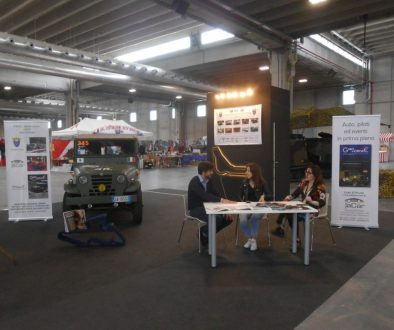 stand UNUCI - Giro d'Onore - Verona Legend Cars 2019